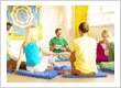 Our spiritual yoga school offers an oasis of tranquility and is home to classes in Yoga and Tantra, along with