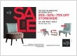 WTP FURNITURE - 25TH ANNIVERSARY SALE!