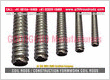 construction Coil Rods