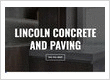 Lincoln Concrete and Paving