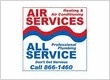 Air Services Heating, Cooling, and All Service Professional Plumbing