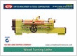 Wood Turning Lathe Manufacturers Exporters in India Punjab Ludhiana