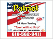 Patriot Auto Recovery and Towing