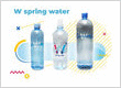 W Spring Water - 100% pure and natural, containing all the essential minerals required by the human body.
