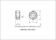 Stainless Steel Hex Nuts Din 934