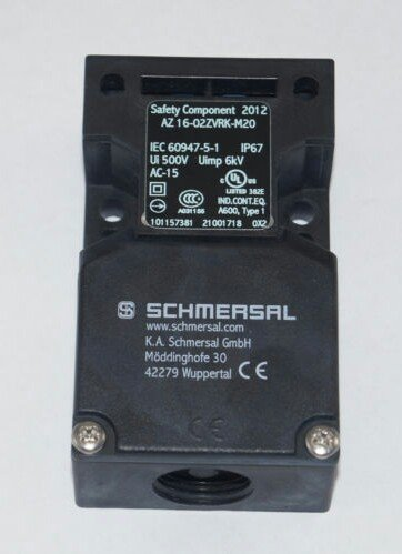 Jual SCHMERSAL Limit Switch AZ 16-02ZVRK-M20
