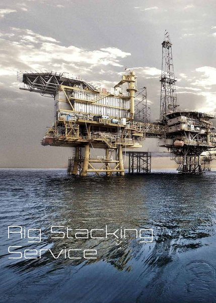 Offshore Rig / Platform Stacking Service