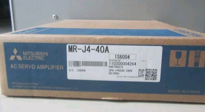 Jual MITSUBISHI Servo Amplifier MR-J4-40A