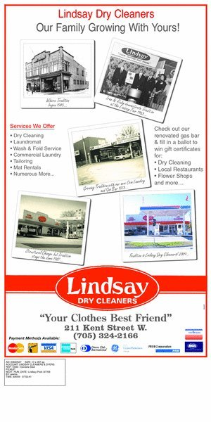 Changing Faces of Lindsay Dry Cleaners