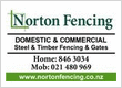 norton fencing