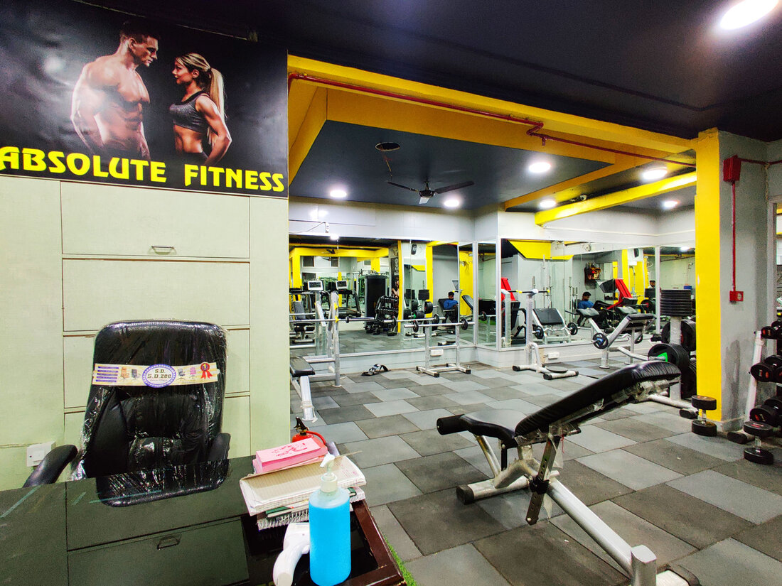 Absolute Fitness Kalkaji - New Delhi,delhi , India