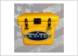 Yellow ICEY-TEK 25 QT Cooler