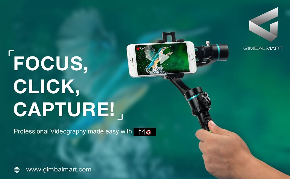 Best 3 Axis Gimbal for smartphone & GoPro | Trio and Uoplay