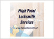 High Point Locksmith Services