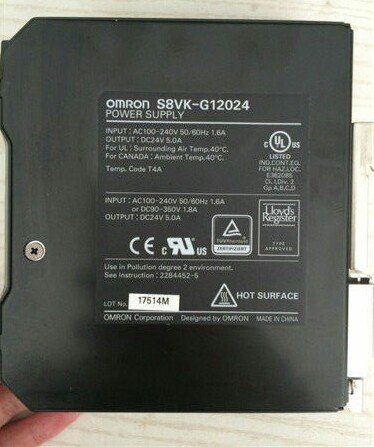 Jual Power Supply OMRON S8VK-G12024
