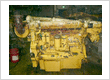 Used CAT D343TA Marine Engine