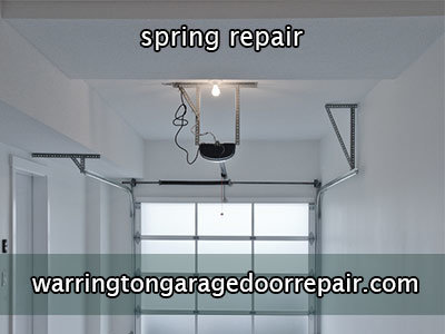 Warrington Garage Door Spring Repair
