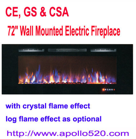 Offer 72 Wall Mounted Electric Fireplace