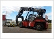 Forklift windscreen