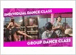 Individual and Group Dance Class