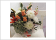 Peachy Keen Flower Fishbowl - A Touch Of Class Florist Perth