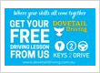 Free Keys2drive driving lesson, Dovetail Driving School
