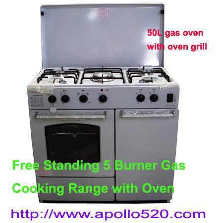 Offer: Free-Standing Gas Range White