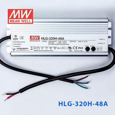 Jual MEAN WELL Power Supply HLG-320H-48A