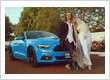 Mr Mustang Hire Wedding