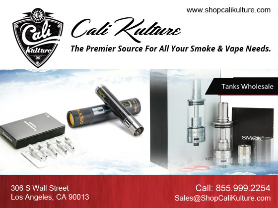Store your e- liquid anytime with Tanks Wholesale - Cali Kulture