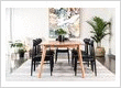 Oslo dining table and Lotus dining chairs