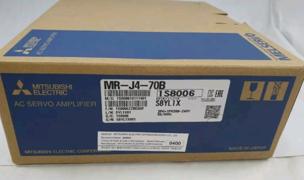 Jual MITSUBISHI Servo Amplifier MR-J4-70B