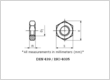 Stainless Steel hexagonal thin nuts DIN 439 / ISO 4035