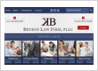 Bryson Law Firm Website