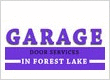 Garage Door Repair Forest Lake