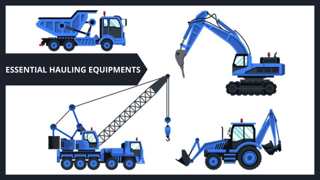 4 Extremely Essential Hauling Equipment