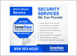 security system repair services cornerstone protection