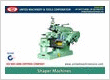 Shaper Machines Manufacturers Exporters in India Punjab Ludhiana