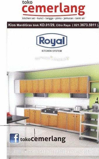 Toko Cemerlang Jual Kitchen Set Royal Di Citraraya Tangerang