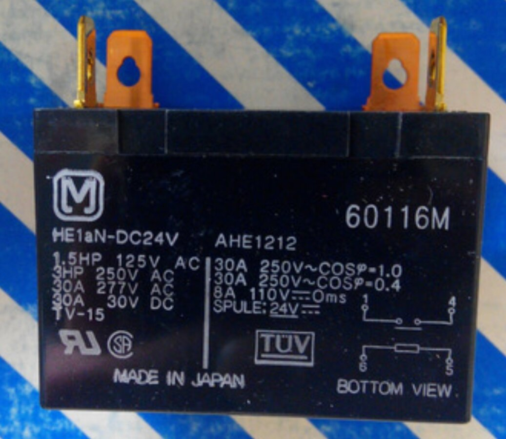 Jual Relay PANASONIC HE1AN-DC24V