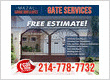 Garage Door and Gate Repair Dallas, TX