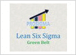 ProSigma's Online Lean Six Sigma Green Belt Certification at Rs. 7,000/- (with tax)