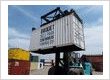 How your container can be moved with a forklift