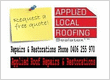 Applied Local Roof Repairs