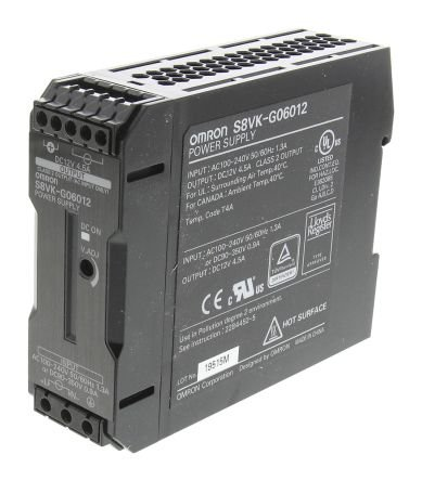 Jual Power Supply OMRON S8VK-G06012