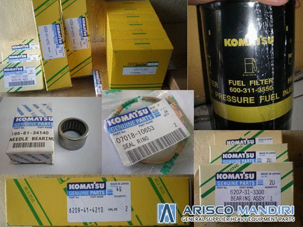 Komatsu Genuine Parts - Arisco Mandiri