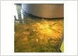 Restaurants Metallic Epoxy Flooring