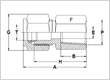 Stainless Steel Male Connectors N