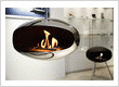 Suspended Biofuel Fireplace