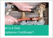 gas compliance certificate banner